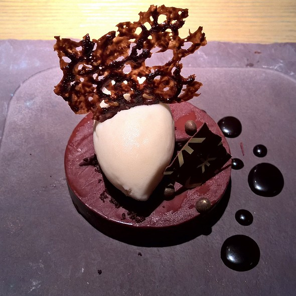 Chocolate and Kalamansi ganache - Hakkasan Hanway Place, London