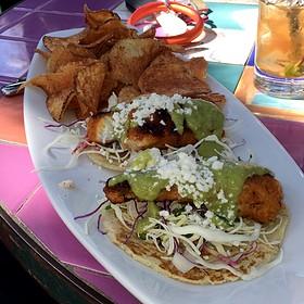 fish tacos - Cappy's Restaurant, San Antonio, TX