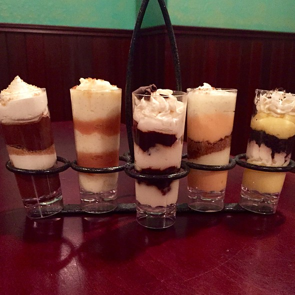 Dessert Shooters - T.J. Maloney's, Merrillville, IN