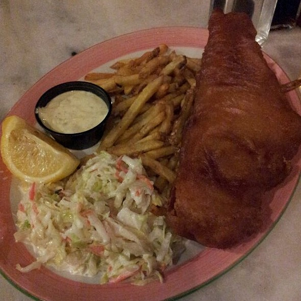 Northern Atlantic Haddock Fish & Chips - Lucy's Seafood Kitchen, Mississauga, ON