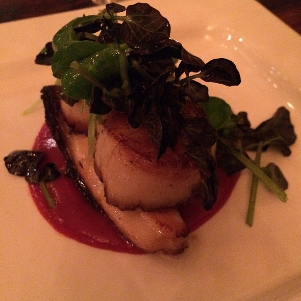 Seared Scallops - EOLO: Seasonal Sicilian Kitchen, New York, NY