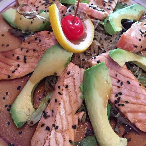 Seared Salmon - BlueFin Japanese Restaurant, San Jose, CA