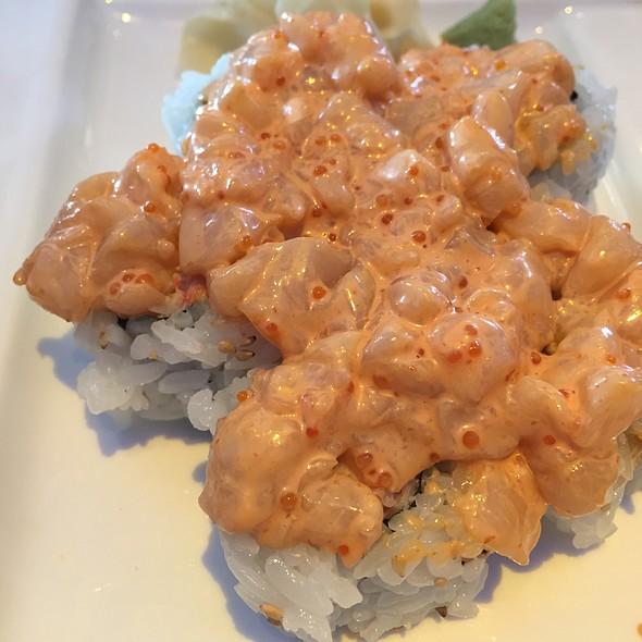 Bay Scallop Roll - BlueFin Japanese Restaurant, San Jose, CA