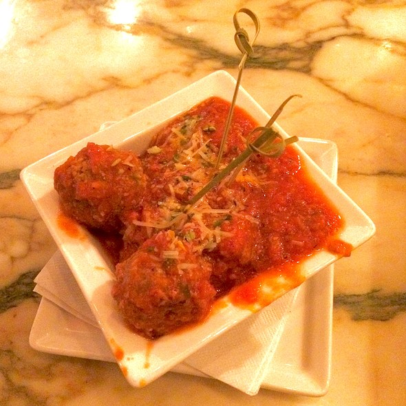 Sicilian Meatballs - Palomino - Seattle, Seattle, WA