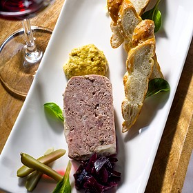 Housemade Pork Pate - The View Restaurant at the Mirror Lake Inn, Lake Placid, NY