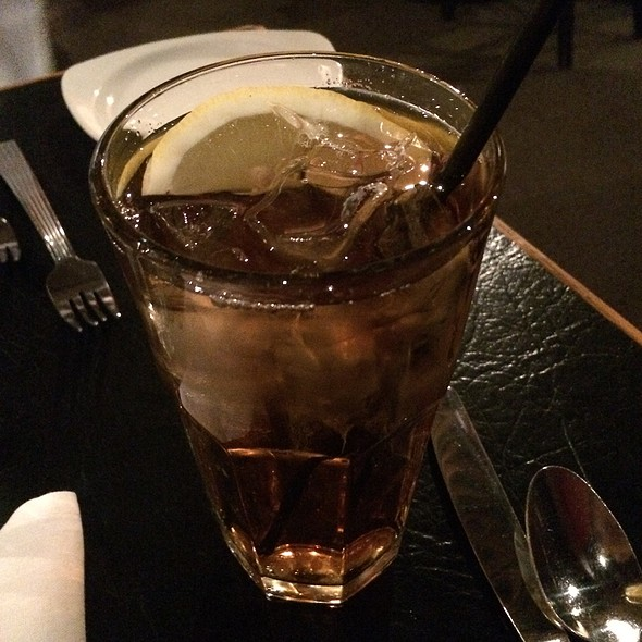 Unsweetened Iced Tea - Margaux's Restaurant, Raleigh, NC