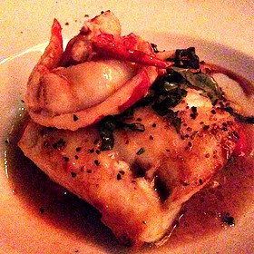 Seabass And Lobster - Pappas Bros. Steakhouse, Dallas, TX