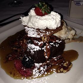 Gooey Pecan Pie - Pappas Bros. Steakhouse, Dallas, TX