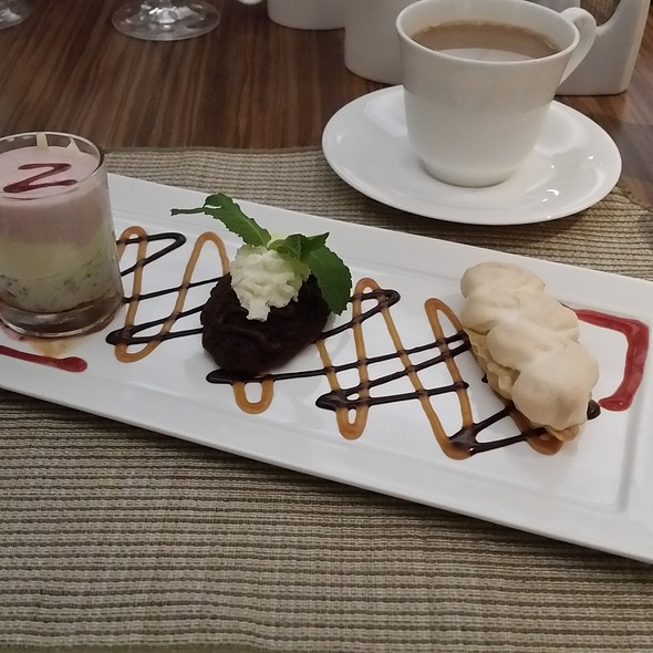 Dessert Sampler - Vita Nova - University of Delaware, Newark, DE