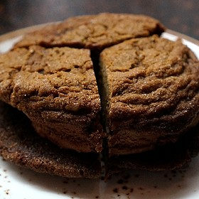 Molasses cookies and fudge ice cream sandwich - State and Lake Chicago Tavern, Chicago, IL