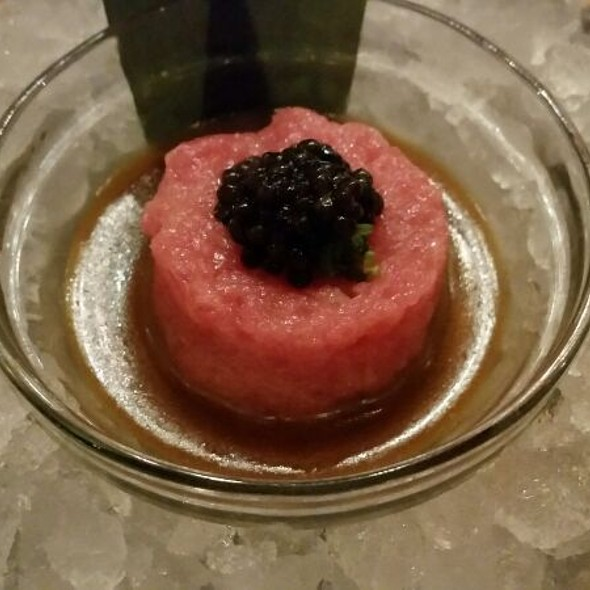 Toro Tartar With Caviar - Nobu Dallas, Dallas, TX