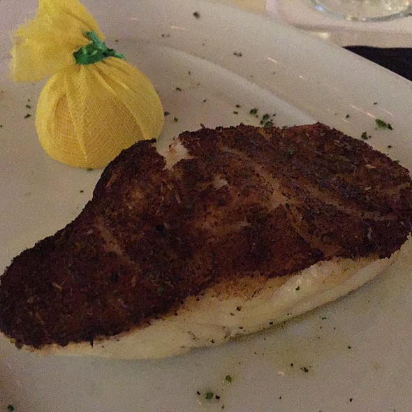 Blackened Chilean Sea Bass - Mastro's Ocean Club - Las Vegas, Las Vegas, NV