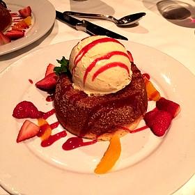 Mastro's Butter Cake - Mastro's Steakhouse - Chicago, Chicago, IL