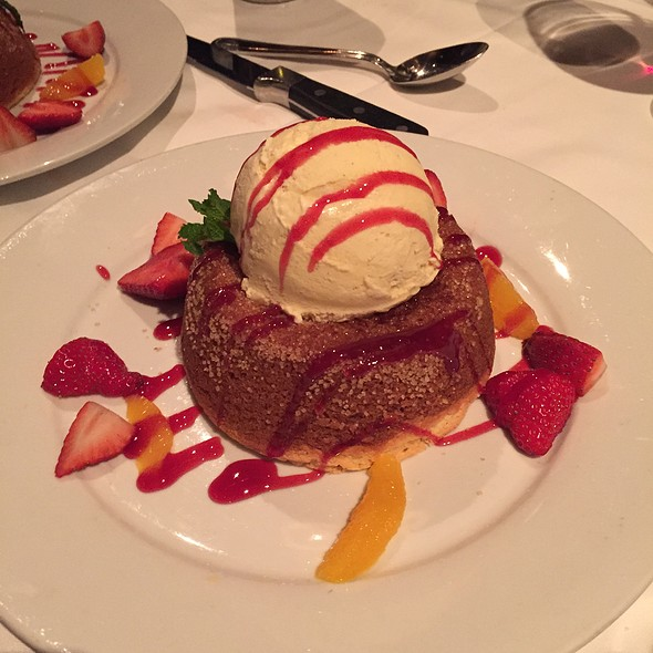 Mastro's Butter Cake - Mastro's Steakhouse - Chicago, Chicago, IL