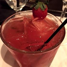 Strawberry Martini - Mastro's Steakhouse - Chicago, Chicago, IL