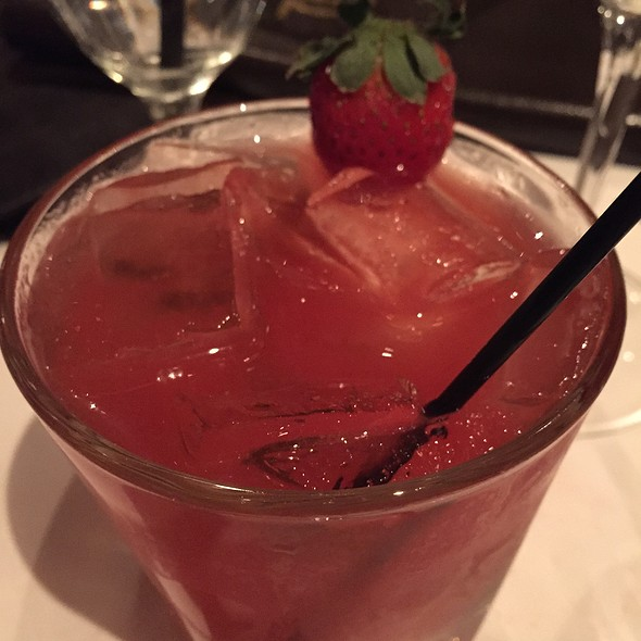 Strawberry Martini - Mastro's Steakhouse - Chicago, Chicago, IL
