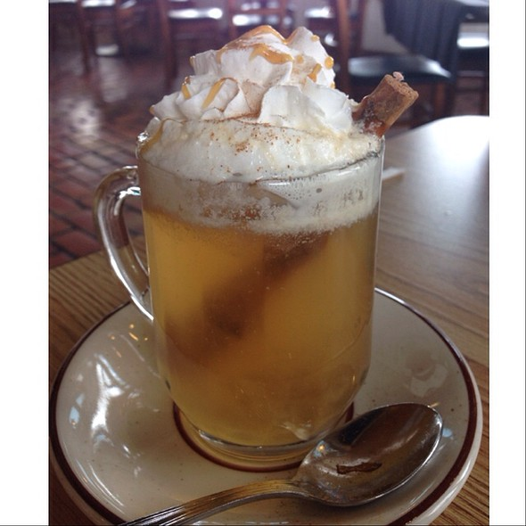 Hot Apple Cider - Helga's German Restaurant & Deli, Aurora, CO