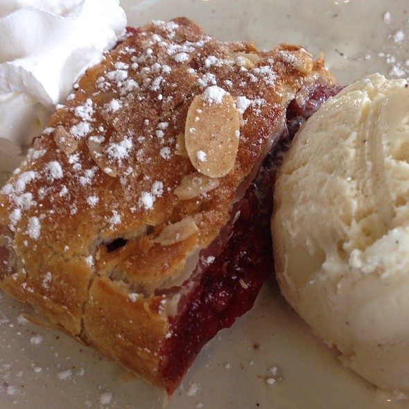 Cherry Strudel - Helga's German Restaurant & Deli, Aurora, CO
