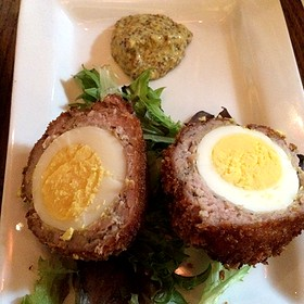 Scotch Egg - Square One Brewery & Distillery, St. Louis, MO