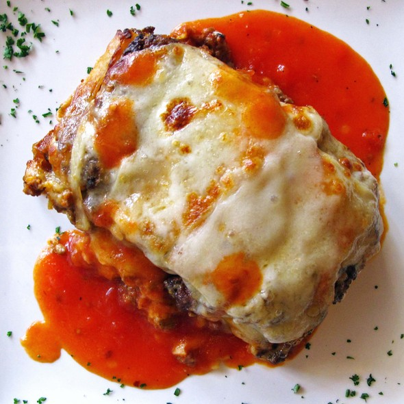 Baked Lasagna Bolognese - Ornella Trattoria Italiana, Astoria, NY