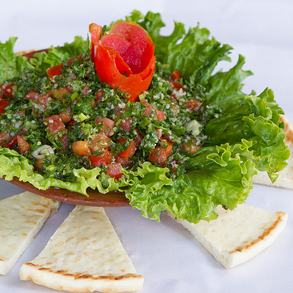 Tabboule salad - Cedars of Lebanon, Salt Lake City, UT
