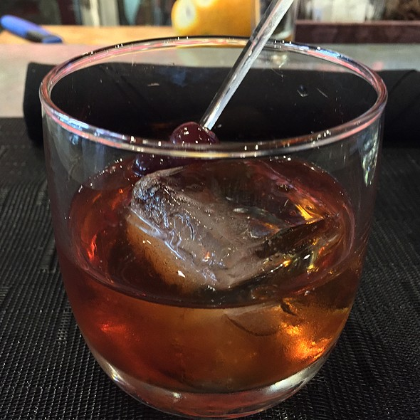 Maple Old Fashioned - BOKA Restaurant + Bar, Seattle, WA