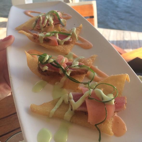 Ahi Nachos - Chart House Restaurant - Ft. Lauderdale, Fort Lauderdale, FL