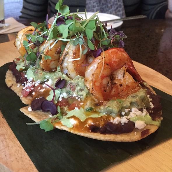 Grilled Shrimp Huarache - Sinigual - NY, New York, NY