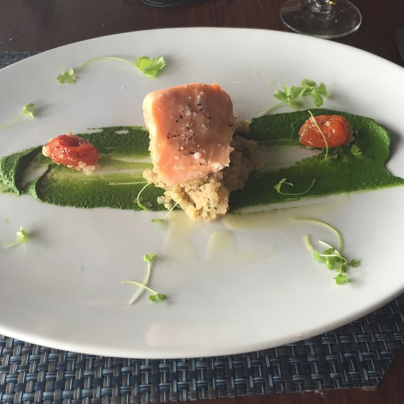 Sous Vide Salmon - Fin Seafood Restaurant, Newport News, VA