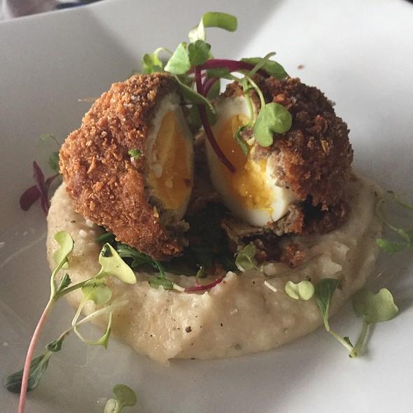 Lamb Scotch Egg - Fin Seafood Restaurant, Newport News, VA