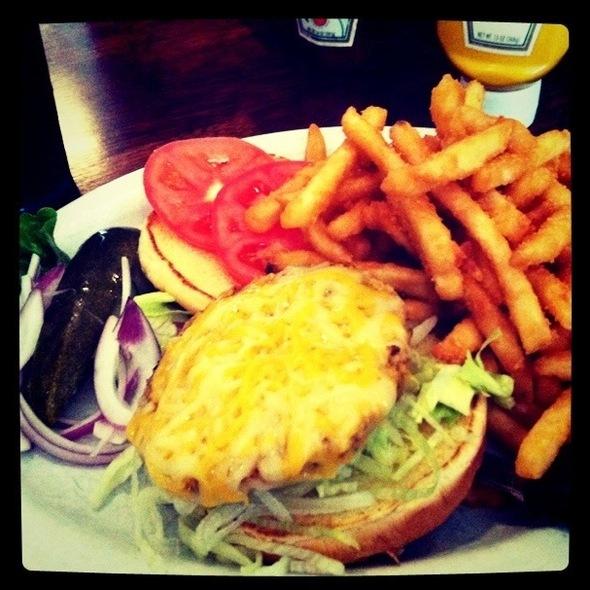 Vegan Burger - Blue Star Cafe and Pub, Seattle, WA