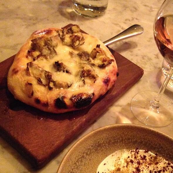 Violet Artichoke Bread - Duck & Waffle, London
