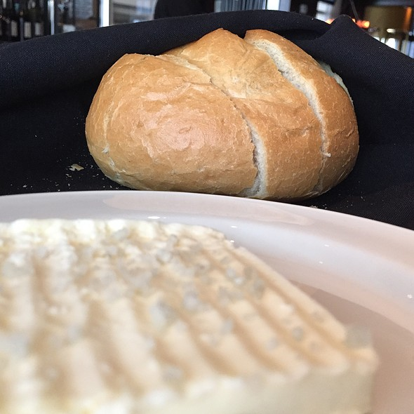 Fresh Baked Sourdough Boule And Butter - III Forks - Houston, Houston, TX