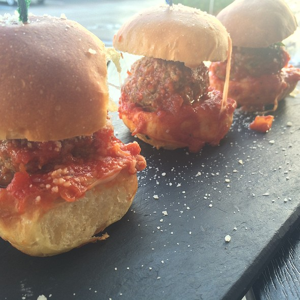 Meatball Sliders - Panaretto Pizzeria Trattoria, Fort Lauderdale, FL