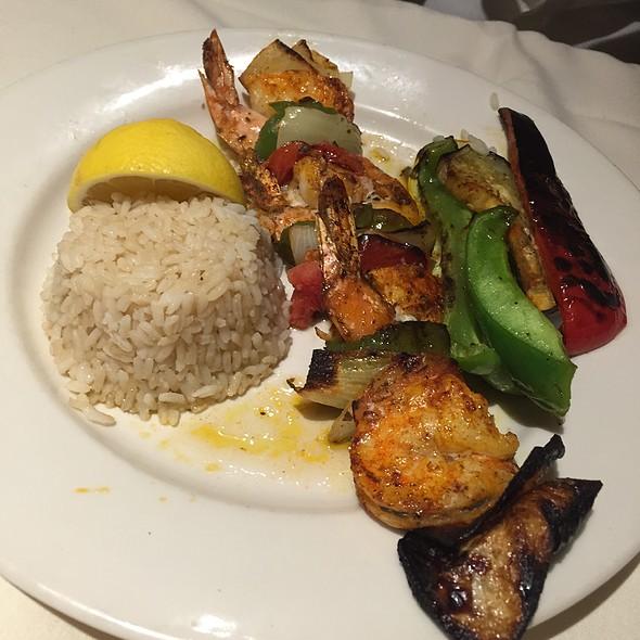 Garides Kebob - Pegasus Restaurant and Taverna, Chicago, IL