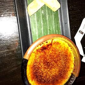 Lemongrass Creme Brulee - Tao Uptown, New York, NY
