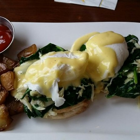 Chesapeake Eggs Benedict - Chesapeake Inn Restaurant, Chesapeake City, MD