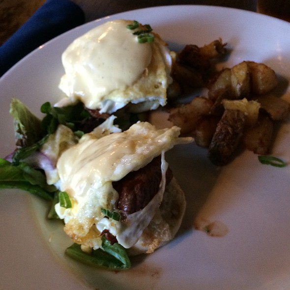Steak Benedict - Saffire, Franklin, TN