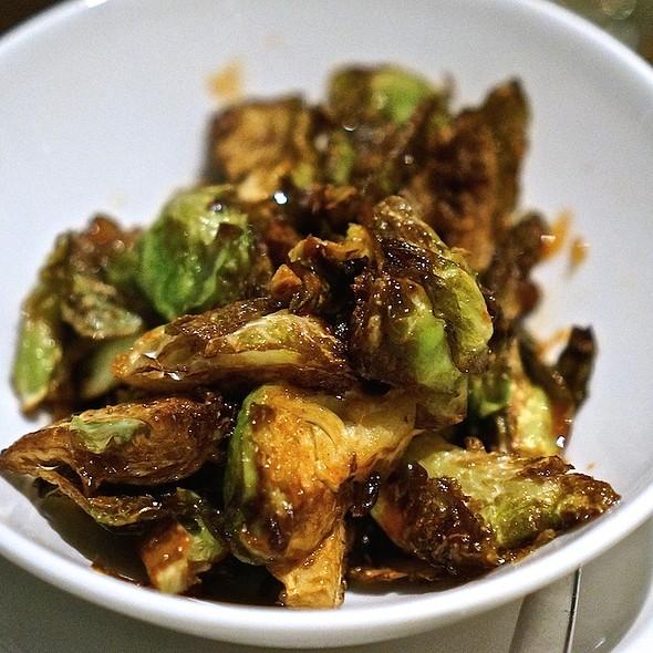 Kimchi fried Brussels sprouts - Beachhouse - Moana Surfrider, Honolulu, HI