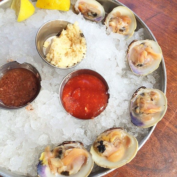 Littleneck clams - Amen Street Fish + Raw Bar, Charleston, SC