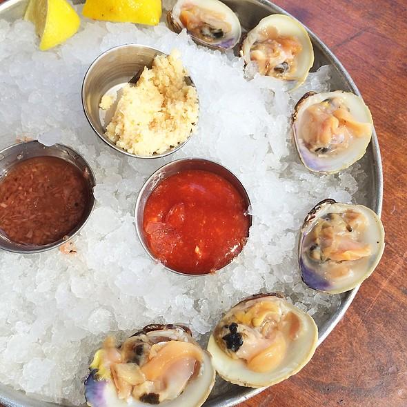 Littleneck clams - Amen Street Fish + Raw Bar, Charleston, SC