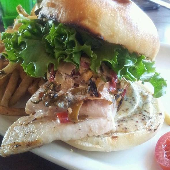 Swordfish Burger - Union Social Eatery, Mississauga, ON