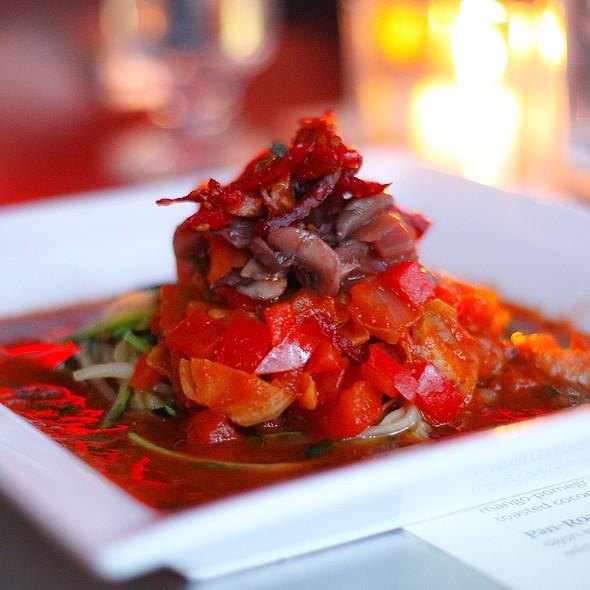 Zucchini Noodles And Tomato Ragout - The Daily Planet, Burlington, VT