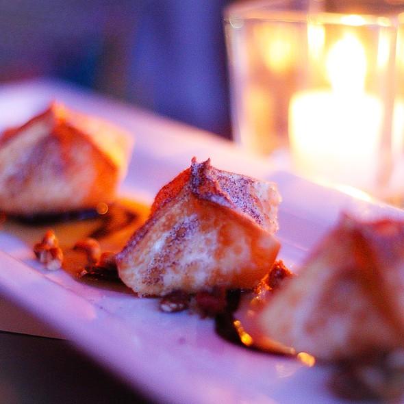Turtle Cheesecake Rangoons - The Daily Planet, Burlington, VT