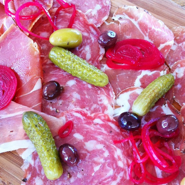 Charcuterie plate - FARM at Carneros, Napa, CA