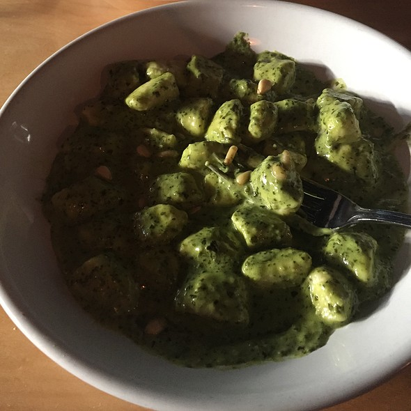 Gnocchi With Basil Pesto - Corretto, Seattle, WA