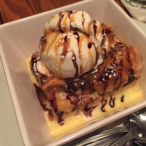 Banana Puding With Vanilla Ice Cream And Maple Syrup - OVERWOOD, Alexandria, VA