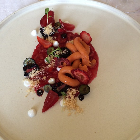 Berry Terrine - Don Manuel's - The Resort at Pedregal, Cabo San Lucas, BCS