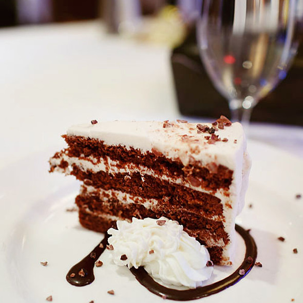 Triple Malt Chocolate Cake - Hanover Street Chophouse, Manchester, NH