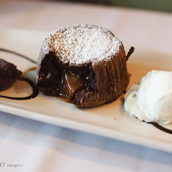 Molten Lava Cake - Buckley's Great Steaks, Merrimack, NH